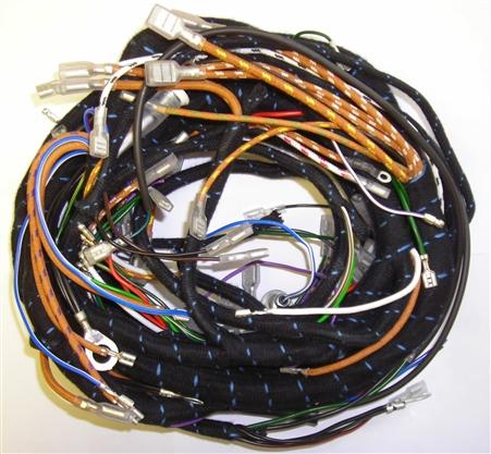 jaguar main wiring harness for early series 1 3 8. Black Bedroom Furniture Sets. Home Design Ideas