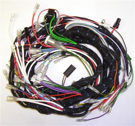 dash wiring harness for 3 8 liter jaguar xke. Black Bedroom Furniture Sets. Home Design Ideas