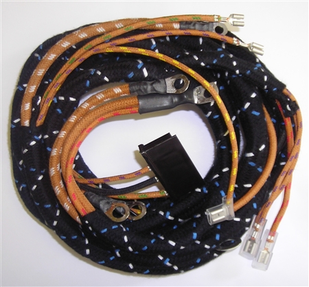 jaguar xke alternator wiring harness early series 1 5. Black Bedroom Furniture Sets. Home Design Ideas