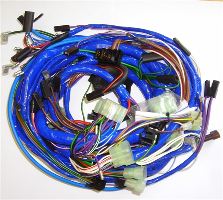 main wiring harness mg midget 1977 80. Black Bedroom Furniture Sets. Home Design Ideas