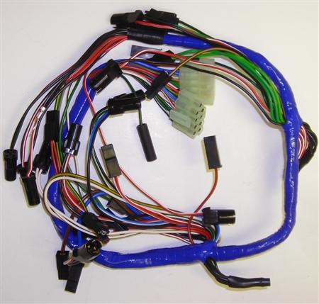 dashboard wiring harness mg 1977 80