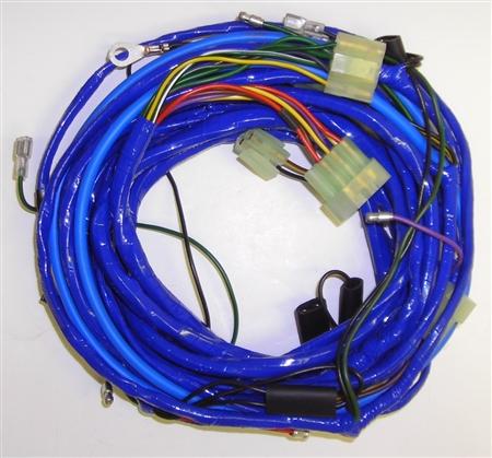 body wiring harness mg midget 1975 77. Black Bedroom Furniture Sets. Home Design Ideas