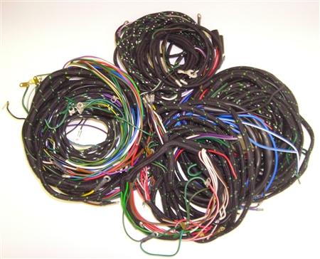 jaguar 1954 57 jaguar xk140 main wiring harness. Black Bedroom Furniture Sets. Home Design Ideas