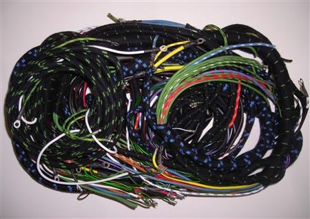 wiring harness set for late jaguar xk150. Black Bedroom Furniture Sets. Home Design Ideas