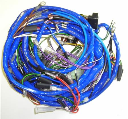 1977 mgb wiring harness diagram mgb 1974 main wiring harness (514) #7