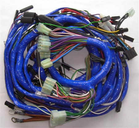 74 mgb wire harness mgb 1978-79 main wiring harness (520) #1