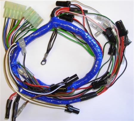 mgb 1975 dash wiring harness 529
