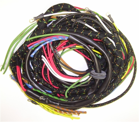 main wiring harness land rover series 1. Black Bedroom Furniture Sets. Home Design Ideas