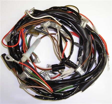 triumph t100, t120 \u0026 tr6 motorcycle wiring harness Motorcycle Wiring Harness Radio Motorcycle Wiring Harness #11